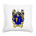 Maloney Family Crest Square Canvas Pillow