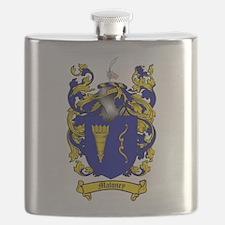 Maloney Family Crest Flask