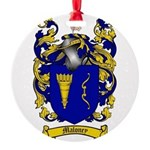 Maloney Family Crest Round Ornament