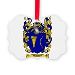 Maloney Family Crest Picture Ornament