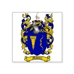 Maloney Family Crest Square Sticker 3