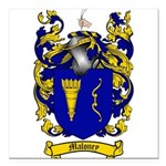 Maloney Family Crest Square Car Magnet 3