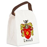 Manning Family Crest Canvas Lunch Bag