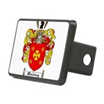 Manning Family Crest Rectangular Hitch Cover