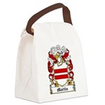 Martin Family Crest Canvas Lunch Bag