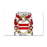 Martin Family Crest Rectangle Car Magnet