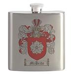 McBride Family Crest Flask