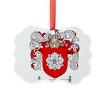 McBride Family Crest Picture Ornament