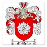 McBride Family Crest Square Car Magnet 3