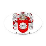McBride Family Crest Oval Car Magnet