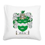 McCabe Family Crest Square Canvas Pillow