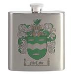 McCabe Family Crest Flask
