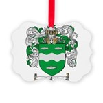 McCabe Family Crest Picture Ornament