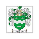 McCabe Family Crest Square Sticker 3