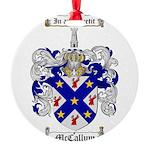 McCallum Family Crest Round Ornament