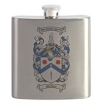 McClure Family Crest Flask