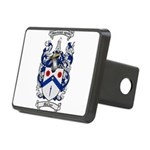 McClure Family Crest Rectangular Hitch Cover