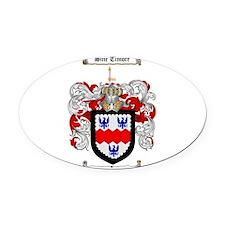 McCormack Family Crest Oval Car Magnet