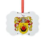 McDonald Family Crest Picture Ornament