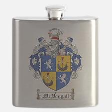 McDougall Family Crest Flask