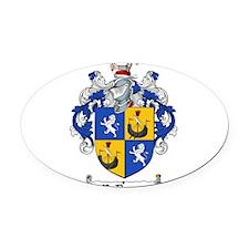 McDougall Family Crest Oval Car Magnet