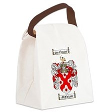 McFarland Family Crest Canvas Lunch Bag