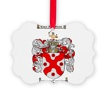 McFarland Family Crest Picture Ornament