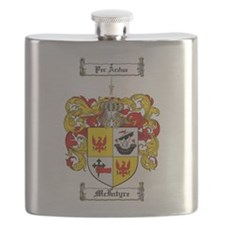 McIntyre Family Crest Flask