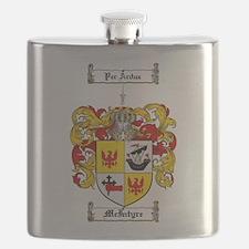 McIntyre Family Crest Flask
