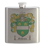 McKenna Family Crest Flask