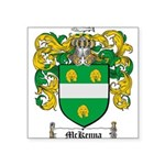 McKenna Family Crest Square Sticker 3