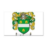 McKenna Family Crest Rectangle Car Magnet