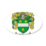 McKenna Family Crest Oval Car Magnet