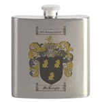 McKnight Family Crest Flask