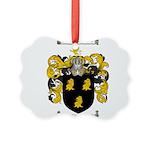 McKnight Family Crest Picture Ornament