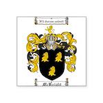 McKnight Family Crest Square Sticker 3