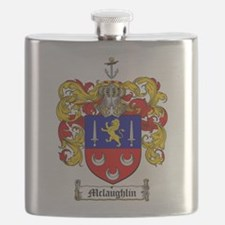 McLaughlin Family Crest Flask