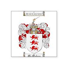 """McMahon Family Crest Square Sticker 3"""" x 3"""""""