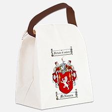 McNamara Family Crest Canvas Lunch Bag