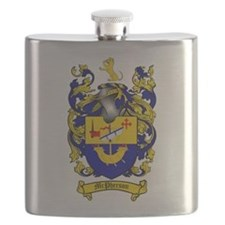 McPherson Family Crest Flask