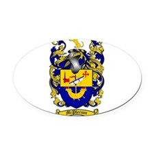 McPherson Family Crest Oval Car Magnet