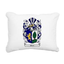 Meyer Family Crest Rectangular Canvas Pillow