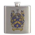 Miles Family Crest Flask