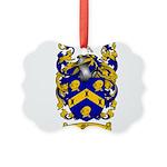 Miles Family Crest Picture Ornament