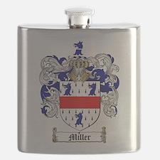 Miller Family Crest Flask