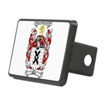 Mills Family Crest Rectangular Hitch Cover