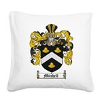 Mitchell Family Crest Square Canvas Pillow