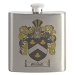 Mitchell Family Crest Flask