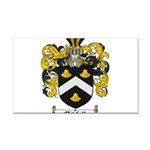 Mitchell Family Crest Rectangle Car Magnet