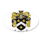 Mitchell Family Crest Oval Car Magnet